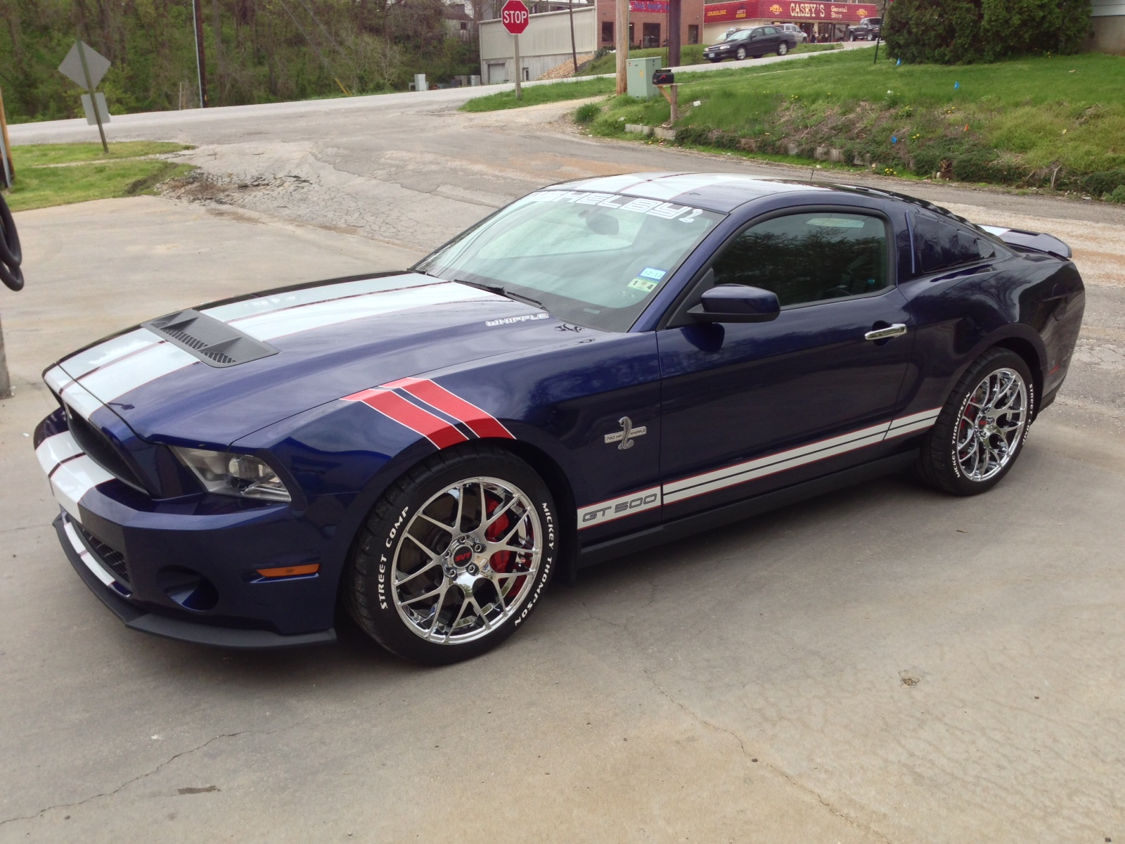 stunning shelby mustang gt500 with raised white letter tires tire kits from tredwear