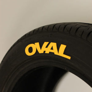 Yellow Tire Graphics-OVAL