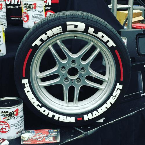 White Tire Paint >> Designer Series Tire Graphics Lettering Kits No Tire Paint Pens