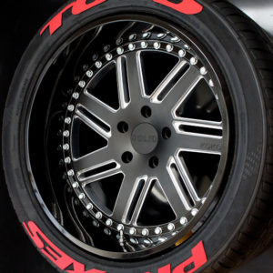 Toyo Proxes Red | Tredwear Tire Letters