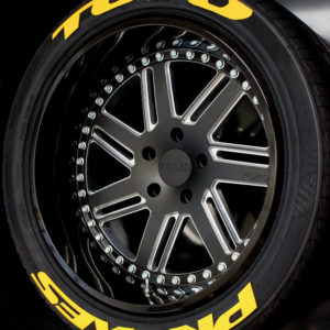 Toyo Proxes Yellow | Tredwear Tire Letters