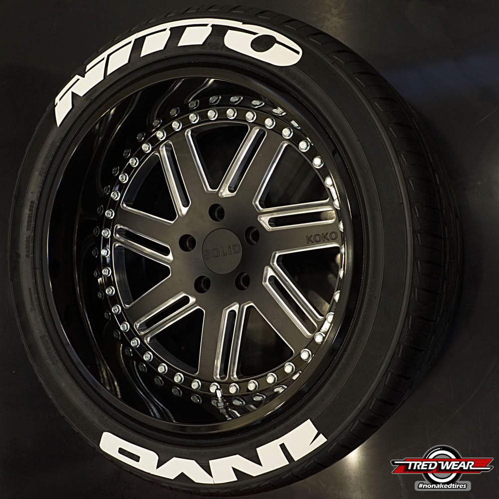 nitto tires with white lettering products archive tredwear 23783 | NITINV1 Nitto Invo white tredwear