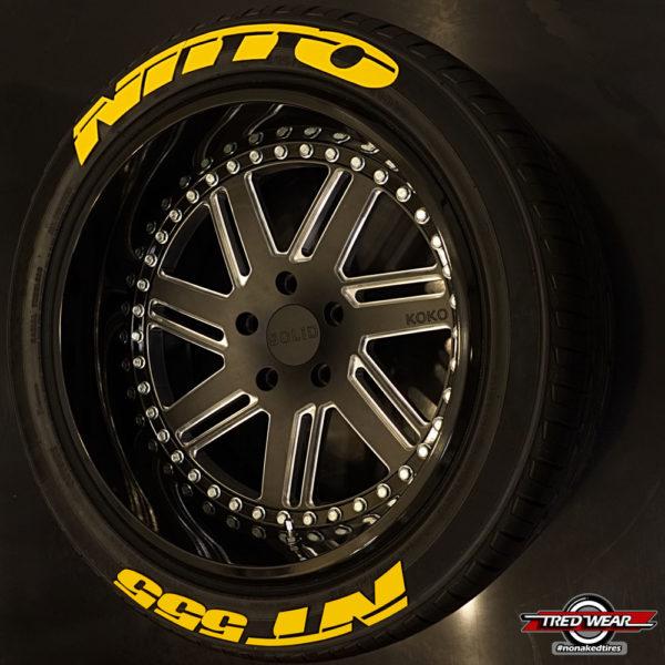 Nitto NT 555 Yellow | Tredwear