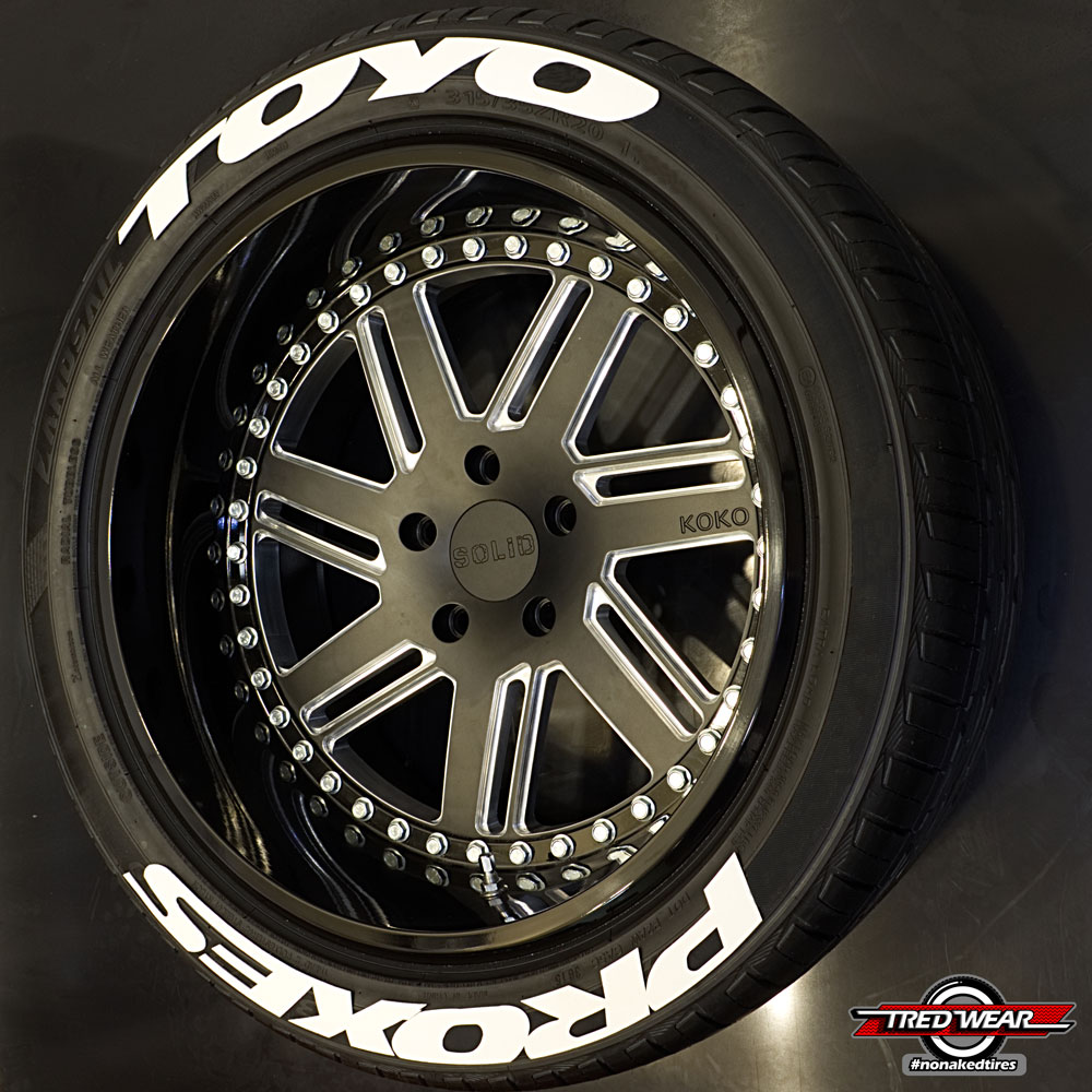Nitto Tires With White Lettering >> Products Archive - TredWear