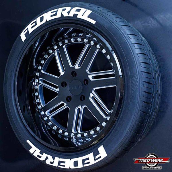 Federal Tire Graphics | Tredwear
